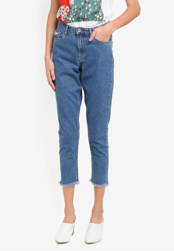 ONLY blue ONLY ONE Kelly Mom Jeans ON573AA0T0BZMY_1