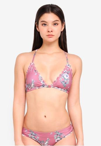 ICHI pink A Toro Bikini Top AF613US08D1A56GS_1