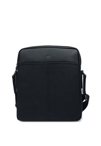 Goldlion black RFID Traveler Sling Bag 9EA15ACD0A61FAGS_1