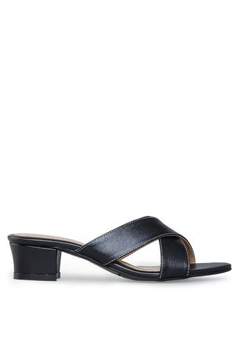 Cavasso black Savira Mid Heels Black CA224SH27LVOID_1