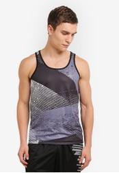 2GO black Sleeveless T-Shirt 2G729AA0S60EMY_1