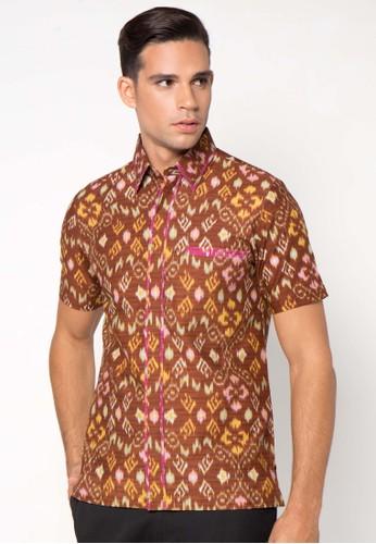 ASANA Batik Tenun Prima Cotton Slim Fit