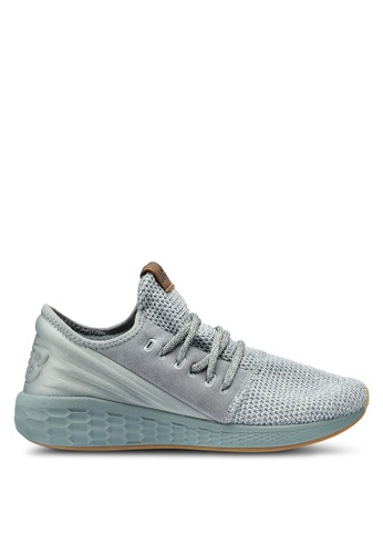 New Balance grey Cruz Future Sport Decon Shoes 565D4SH777E12CGS_1