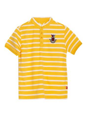 Cardinal Kids yellow Polo Shirt Kerah Shanghai BB85CKA99916E2GS_1