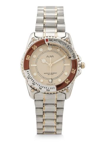 Alba silver Men Analog Watches AXDA56 A53E2AC54B4E40GS_1