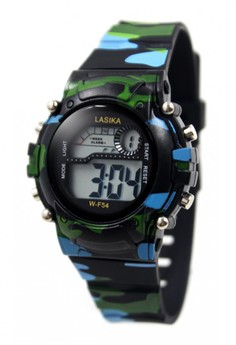 Lasika Army Designed Water Resistant Sports Watch W-F54