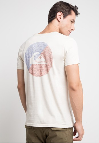 Quiksilver multi and beige Shookup M Tees Tfl0 T-Shirt C7E4AAA6C2D3CEGS_1