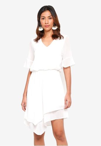 Vero Moda white Sarah SS Short Dress 11670AA3B50354GS_1