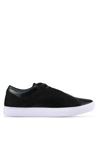 ZALORA black Contemporary Mixed Materials Sneakers 063A6SH544BDE6GS_1