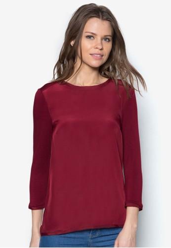 素色長袖zalora 衣服評價上衣, 服飾, 服飾