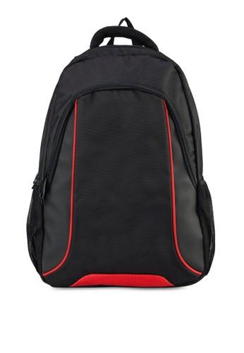撞色滾邊筆電後esprit衣服目錄背包, 包, 飾品配件