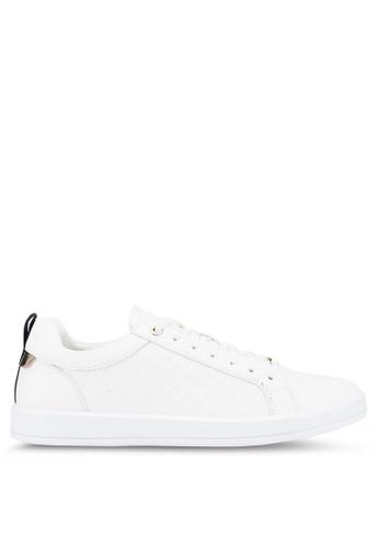 ALDO white Coventry Sneakers 2C41ASHF86DAABGS_1