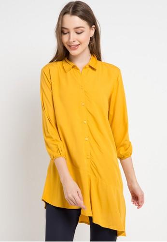 Bodytalk yellow Darling Shirt 5E465AA27FB666GS_1