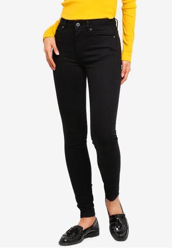 Factorie black The Skinny Mid Rise Jeans 1B23EAA56B790FGS_1