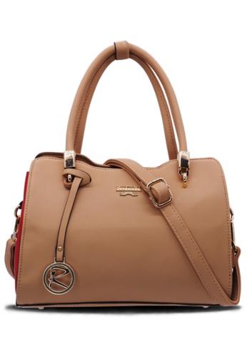 RUCINI brown Rucini Multicolored Side Handbag Brown 6636DAC4E26765GS_1