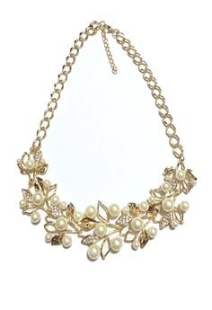 Julianne Pearl Bib Necklace