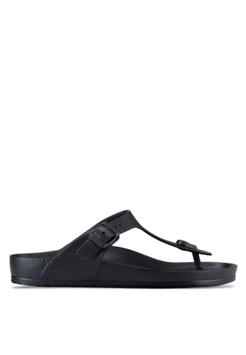Birkenstock black Gizeh EVA Sandals BI090SH01JPEMY_1