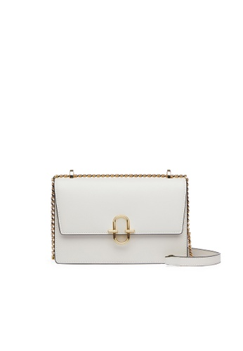 Byford white U.K. Byford Ladies' Action Leather handbag with shoulder strap 54407ACD13C10DGS_1