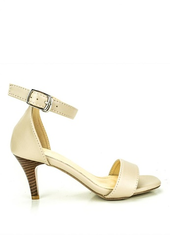 Mario D' boro Runway beige Celyn Heeled Sandals F763CSHB9D3B58GS_1