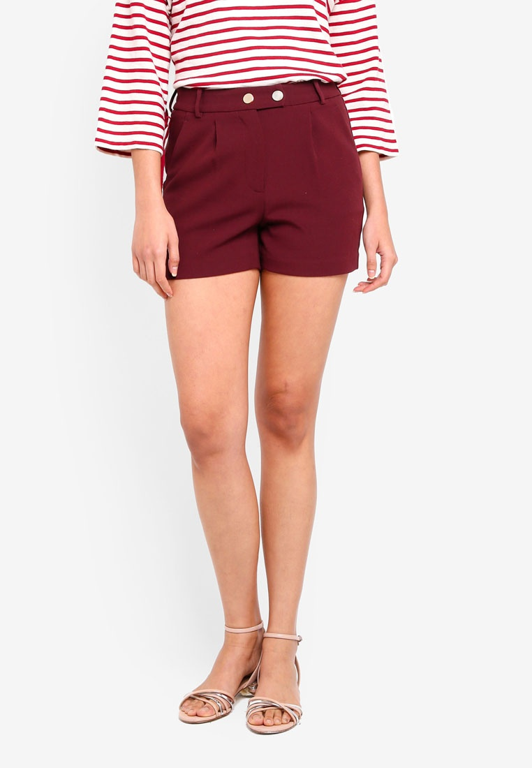 Shorts Red Shorts ESPRIT ESPRIT Red Woven Woven qqxZEv6w