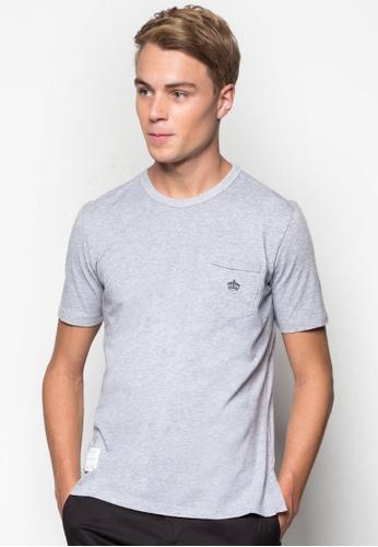 SPARROW GREEN grey Ken T-shirt SP065AA54EAZMY_1