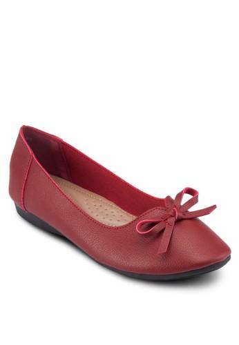zalora 內衣蝴蝶結平底鞋, 女鞋, 芭蕾平底鞋