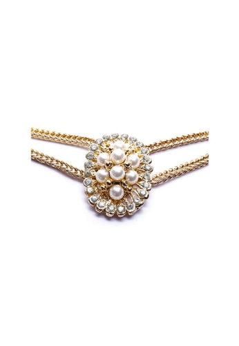 Jewelplace gold Pearl Statement Necklace JE882AC55KJCPH_1