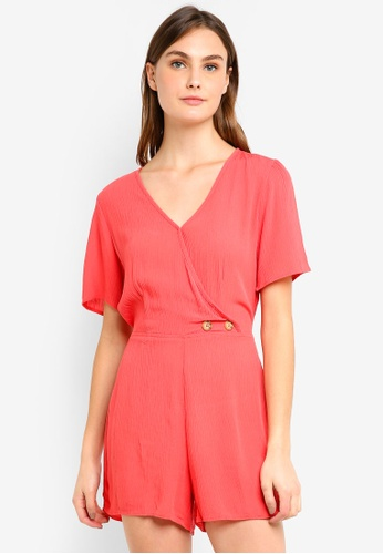 b016ac29aa Shop Cotton On Woven Angie Cap Sleeve Playsuit Online on ZALORA Philippines