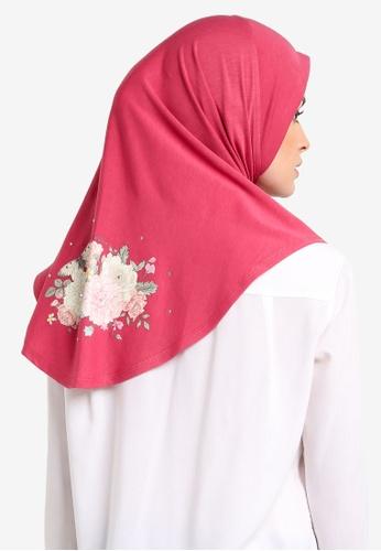 Cloverush pink Vera Instant Scarf CL245AA0RNSEMY_1