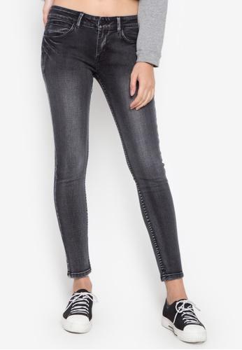 Balaynor black Fashion Skinny Slight Acid Wash Jeans 64132AA718F361GS_1