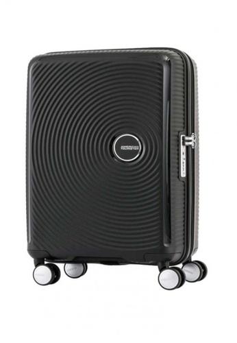 American Tourister black Curio Spinner 80/30 Exp TSA 51780ACF111068GS_1