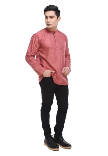 Amar Amran pink Kurta Al Amin 2.0 FA7D6AA4C0B053GS_1