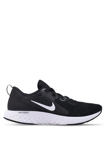 Nike black Nike Legend React Shoes 4733ESHADBBFEAGS_1