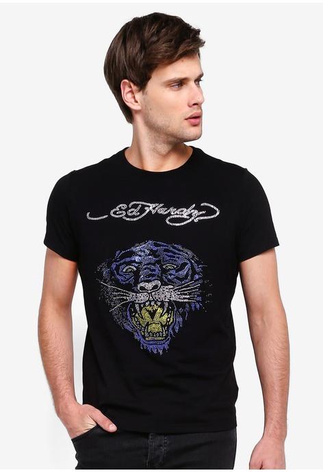 7d12423a5 Buy Ed Hardy Men T-Shirts Online | ZALORA Malaysia