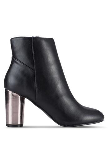 Dorothy Perkins black Black 'Ashe' Pu Heeled Boots DO816SH13YGOMY_1