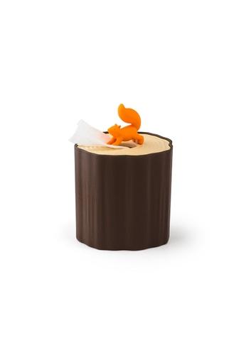 Qualy Squirrel Tissue Log Toilet Paper Dispenser 2F6DEHLE620116GS_1