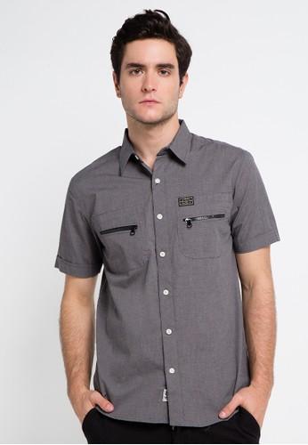 SHARKS grey Short Sleeve Shirt SH473AA0VMGOID_1
