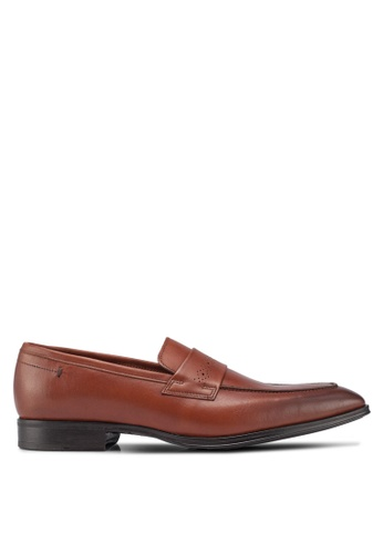 ALDO brown Ybisien Loafers B7484SH63AFE32GS_1
