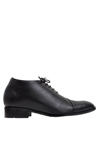 Keeve black Keeve Shoes Peninggi Badan Formal 137- Hitam A01D2SH35A0664GS_1
