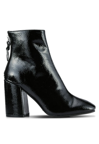 Dorothy Perkins black Atlas Square Toe Boots DO816SH0S2KGMY_1