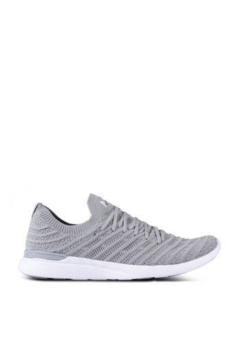 ATHLETIC PROPULSION LABS grey Men's TechLoom Wave Sneakers A1D58SH7444AFBGS_1