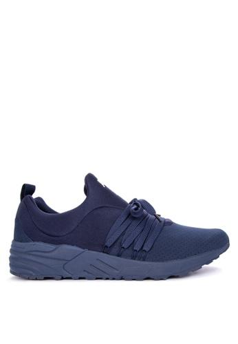 Fila navy Mucho Running Shoes 7D27DSHC72D163GS_1