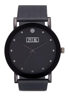 Hexagon Textured Watch