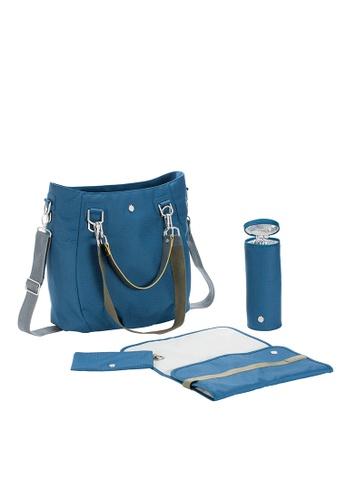 LASSIG blue Lassig Mix 'n Match Diaper Bag (Ocean) F7F54KC6EDF8D2GS_1