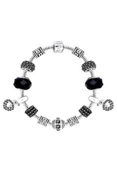 Treasure by B&D DBY014 Morano DIY Bracelet Mysterious Beauty Black Lucky Beads