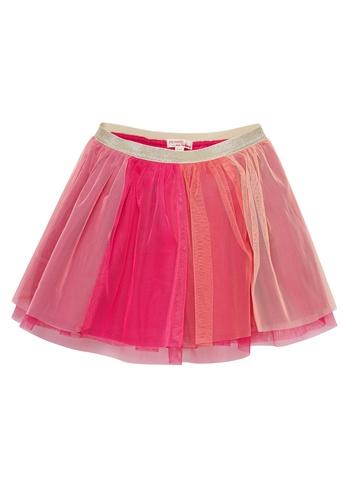 Du Pareil Au Même (DPAM) pink Tulle Skirt CAC73KA40613B4GS_1