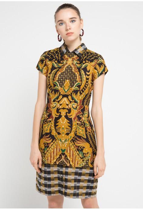 Baju Batik Semar Belanja Batik Semar Online Zalora Indonesia