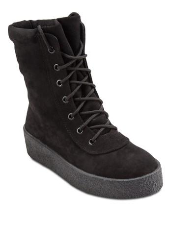 Wild 繫帶厚底短靴, 女esprit outlet 香港鞋, 鞋