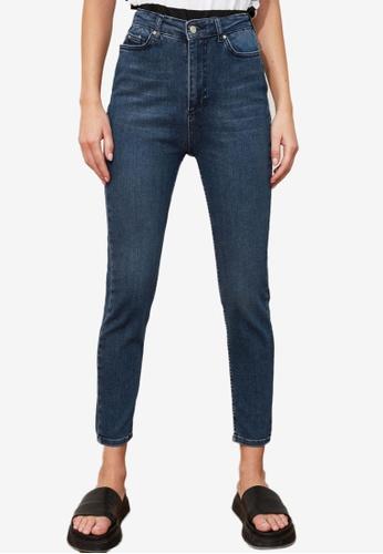 Trendyol blue High Waist Skinny Jeans 66A6DAAEBA7CFAGS_1