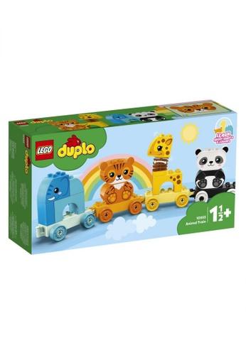 LEGO multi LEGO DUPLO My First 10955 Animal Train (15 Pieces) 83B36THF2EE39CGS_1